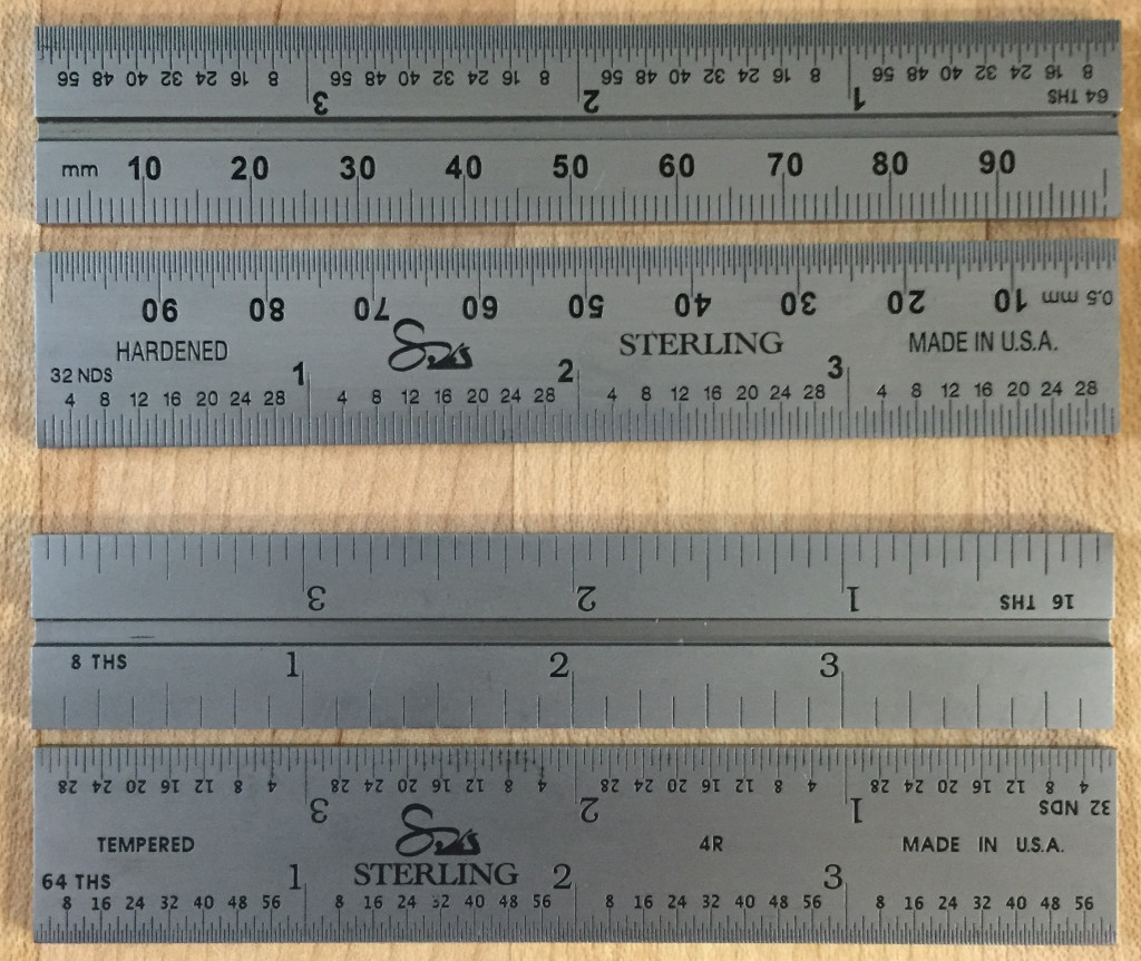 4 inch rules for Dovetail Square