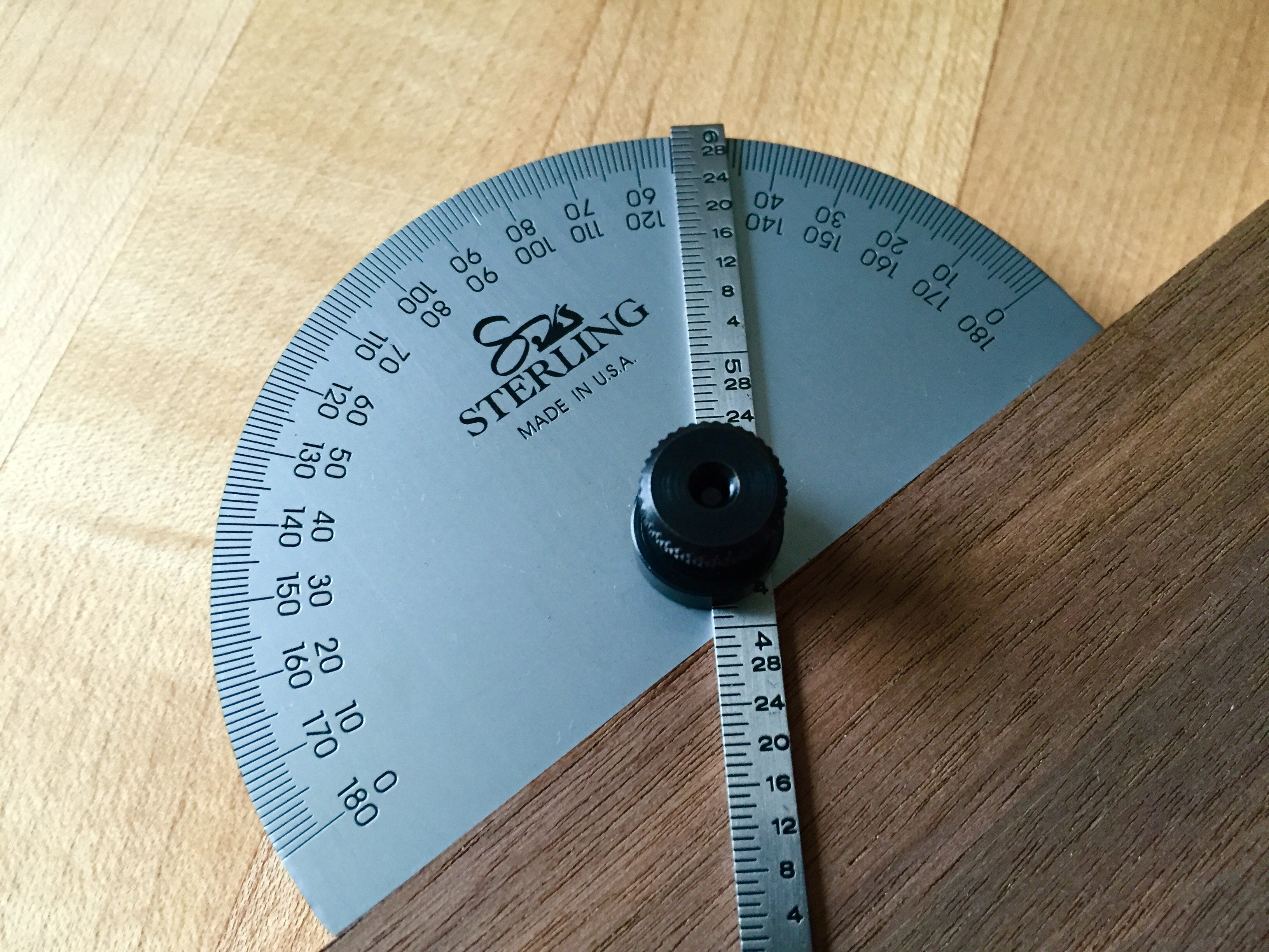 Announcing The Sterling Tool Works Precision Protractor